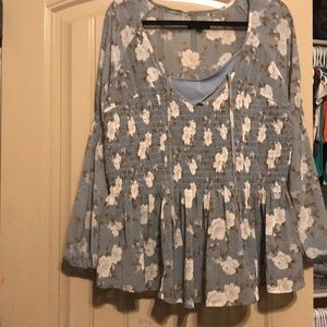 Women's American Eagle Floral Top